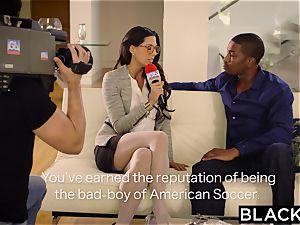 first-ever interracial for stunner Alexa Tomas