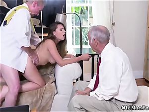 ravage his elderly friend playfellow s step-sister Ivy amazes with her ample fun bags and caboose
