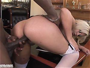 Bridgette B - My new Latina secretary in tights