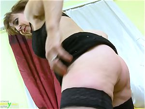 OldNannY scorching Mature damsel Solo getting off Showoff