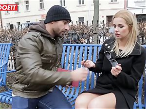 LETSDOEIT - red-hot platinum-blonde Tricked Into fuck-a-thon By Czech guy