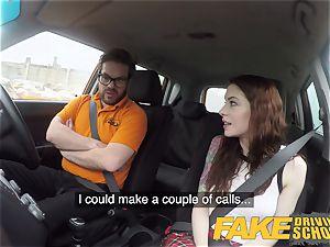 fake Driving college USA honey Anna De Ville