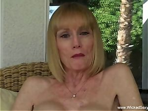 oral pleasure In The Backyard Pool From mom
