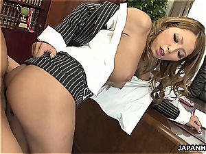 japanese secretary getting her puss drilled dearly