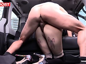 taxi Driver pops several Times In fabulous Czech vagina