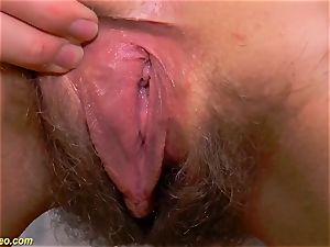 wooly nubile bare spreading