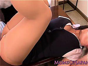 ultra-cutie Hana Haruna is wild and needs spanked