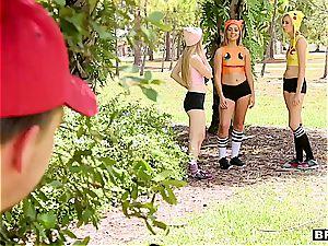 luxurious Pokemon femmes caught to satiate their tormentor