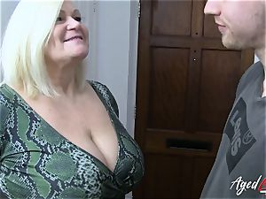 AgedLovE gonzo with super-fucking-hot Mature Lacey Starr