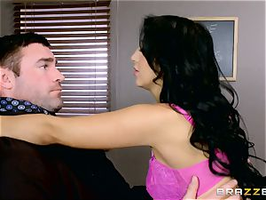 fuck-a-thon longing student Valerie Kay tears up the instructor in the classroom