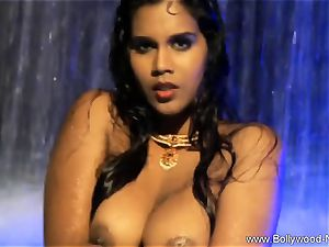 dark haired stunner From insane India