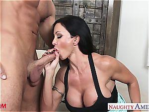 great mummy pleasure buttons Jade ravaging a beautiful man