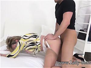 Spanish Fly In female Sonia's Tea Gets Her kinky As pummel