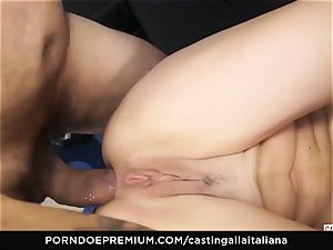 casting ALLA ITALIANA - novice buttfuck gape and boink