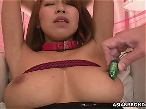 asian stunner plaything vibed and vag vibed