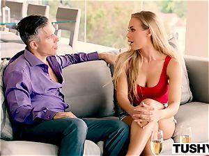 TUSHY Nicole Aniston first anal, big gapes!