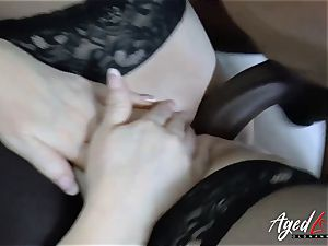 AgedLovE Lacey Starr interracial gonzo orgy