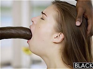 BLACKED first-ever bi-racial For Pretty gf Zoe dick