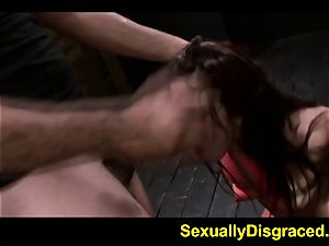 trussed for conformity Stella May climaxes