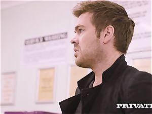 Private.com - Mia Malkova gets fucked in the laundry