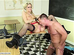nubile goth hoe Jessa Rhodes gets disciplined by her professor