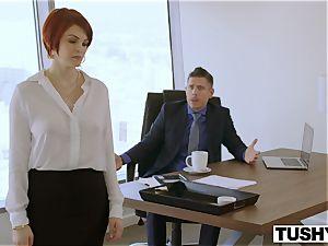 TUSHY Bree Daniels first-ever anal invasion fucky-fucky scene