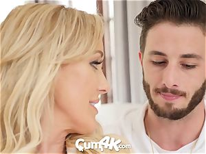 CUM4K Step mother Brandi love packed with creampies
