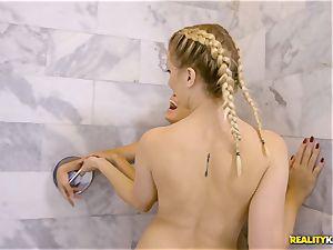 Sierra Nicole and Brice Bardot take a break to munch minge