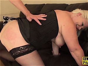 chubby brit victim predominated with roughsex