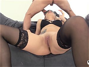 HER restrain - crazy ass fucking plumb with Russian Stasy Rivera