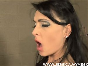 Jessica Jaymes and Darryl Hanah fuckin' faux-cock deep into fuckboxes