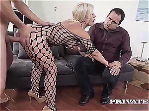 milf Nikyta enjoys firm anal invasion While Her husband witnesses