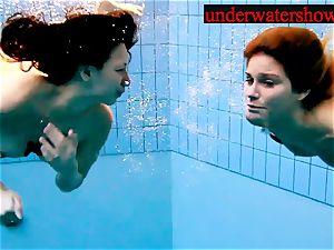 Andrea and Monica underwater ladies