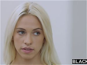 BLACKED blond college doll PUNSIHED by bbc