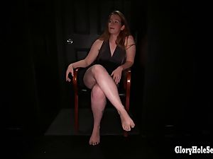 Different gloryhole women in the gloryhole deep-throating