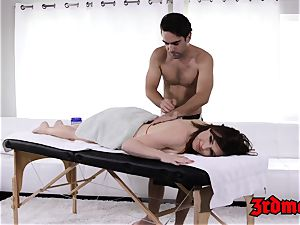 massage luving milf Krissy gets her wet pussy rammed