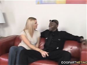 Christina Skye ravages ginormous black dick In Front Of Her son-in-law