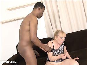 grandma porn elder female Takes facial cumshot jizz shot Gets drilled