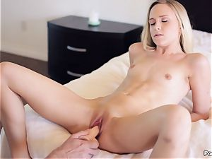 Bree Mitchells gets into all sorts of positions with her man