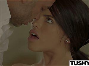 TUSHY Lonely wifey Adriana Chechik Gets assfuck massage