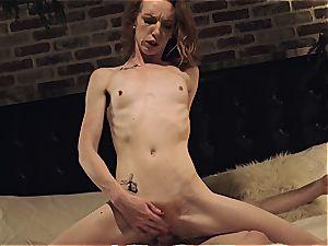 Katy smooch gets her skinny assets demolished