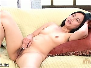 Interview and wank with Omorose