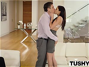 marvelous Ariana Marie rectal fucked