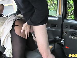 fake taxi ebony gets down and filthy