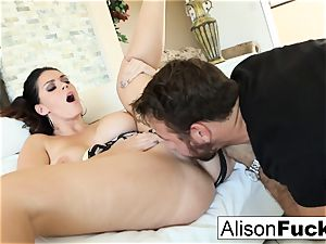 Alison takes on a big fuck-stick