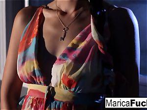 japanese pornographic star Marica gets nude