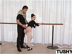 youthful ballerina tries assfuck for the very first time