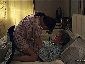 japanese Chae Min-Seo on her knees sucking penis