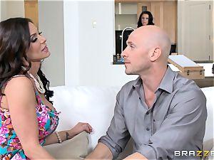 Kendra lust and Peta Jensen share their fellow
