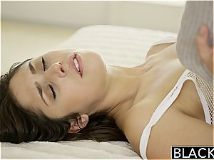 BLACKED style Model Anna Mornas very first Time With A big black cock